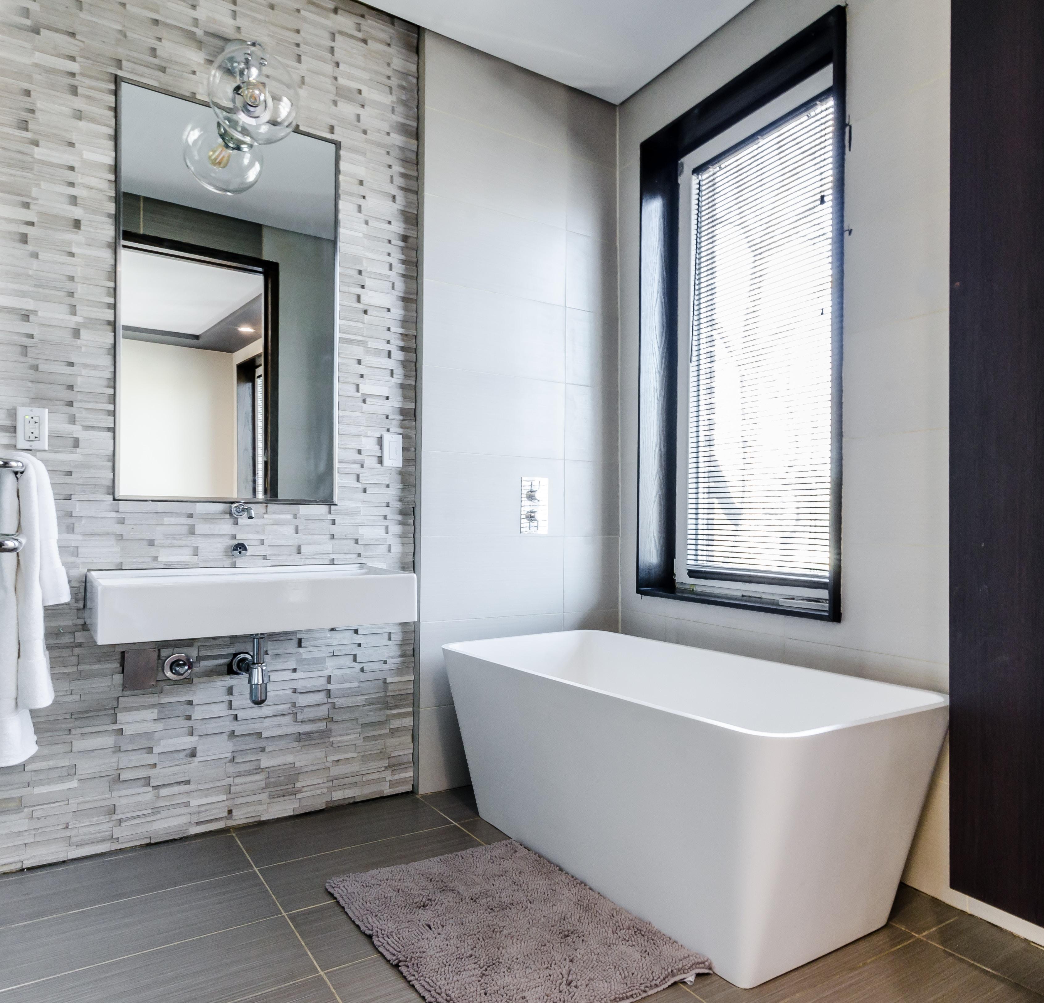 Bathroom tiling project